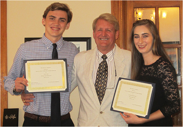 Winners of the 2018 Scholarships from Hester's Abbey Floorcoverings