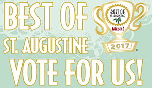 Best of St. Augustine - Vote For Us!