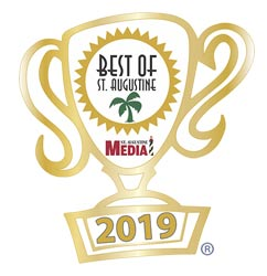 Voted BEST of ST AUGUSTINE for 2019 - stop by and find out why!