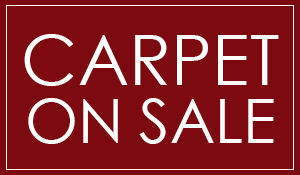 Carpet on sale starting at only $1.99 Sq. Ft.! Exclusive lifetime warranty only at Hester's Abbey Floorcoverings in St. Augustine, Florida!