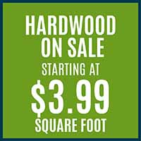 Hardwood Flooring on Sale starting at $3.99 sq.ft. at Hester's Abbey Floorcoverings in St. Augustine, FL