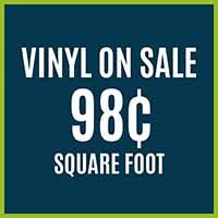 Luxury Vinyl Flooring on Sale 98¢ sq.ft. at Hester's Abbey Floorcoverings in St. Augustine, FL