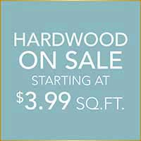 Hardwood Flooring on sale starting at $3.99 sq.ft. at Hester's Abbey Floorcoverings in St. Augustine