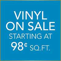 Luxury Vinyl Flooring on sale starting at 98¢ sq.ft. at Hester's Abbey Floorcoverings in St. Augustine